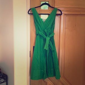 Kelly green Calvin Klein dress 4 6 midi